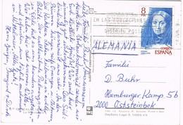 30624. Postal CALPE (Alicante) 1979. La Manzanera Y El Peñon - 1931-Hoy: 2ª República - ... Juan Carlos I