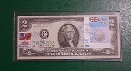 USA : Billet De 2 $ 1976 Atlanta Et Drapeau De Fiji GEM NC - Collections