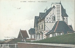14 CPA LE HOME VARAVILLE Villa BESANCON - France