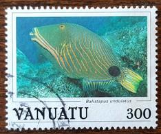Vanuatu - YT N°779 - Faune / Poissons - 1987 - Oblitéré - Vanuatu (1980-...)