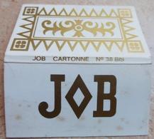 """Carnet De Papier à Cigarettes """"  JOB  """" Job Cartonné N° 38 Bis - Empty Cigarettes Boxes"""