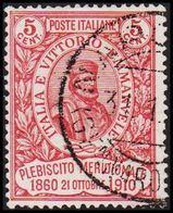1910. GARIBALDI  5 (+5) Cmi.  (Michel 97) - JF308089 - 1900-44 Vittorio Emanuele III