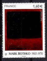 FRANCE** 1,60€; Multicolore Oeuvre De Mark Rothko - Nuovi