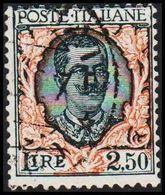 __1926. Viktor Emanuel __ 2,50 L.  (Michel 243) - JF308123 - 1900-44 Victor Emmanuel III