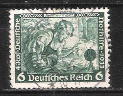 Reich N° 473 Oblitéré Dentelé 14x13 Michel 502A - Allemagne