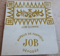 """Carnet De Papier à Cigarettes """"  JOB  """" Job Broche Gommé N° 17 Bis - Empty Cigarettes Boxes"""