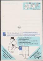 Finnland  1988 Ganzsache Mi-Nr.P162 Sonderkarte Ausstellung FINLANDIA 88 Ungebraucht ( D 6344) Günstige Versandkosten - Enteros Postales