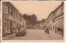Lommel - Kerkstraat (Rechts Lokaal Lommel S.K , Links Bazar-Huis Jansen-Vreijs) - Lommel