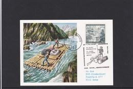 SOS Kinderdorf Sonderpostbeförderung Floss Weyer Grossraming 1984 - Österreich