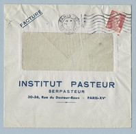 N° 716B Marianne De Gandon Seul Sur Enveloppe Entête Institut Pasteur 24/647 - Postmark Collection (Covers)