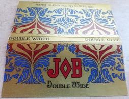 """Carnet De Papier à Cigarettes """"  JOB  """"   Double Wide Double Glue - Empty Cigarettes Boxes"""