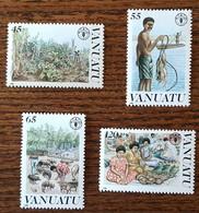 Vanuatu - YT N°814 à 817 - Journée Mondiale De L'Alimentation - 1988 - Neufs - Vanuatu (1980-...)