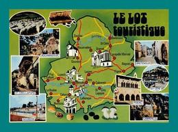46 Lot Carte Géographique ( Champignons, Funghi, Cepes, Noix, Truffes ) - Francia