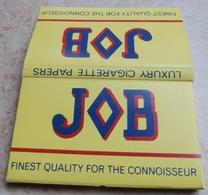 """Carnet De Papier à Cigarettes """"  JOB  """"  Finest Quality For The Connoisseur - Empty Cigarettes Boxes"""