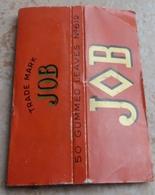 """Carnet De Papier à Cigarettes """"  JOB  """"  Gummed Leaves N° 612 - Empty Cigarettes Boxes"""