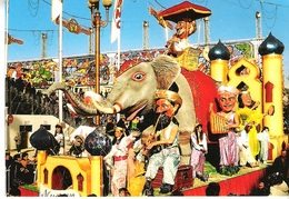 CP MODERNE - CARNAVAL DE NICE - ROY DE LA MUSIQUE  - ELEPHANT- NON ECRITE - Carnaval