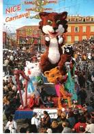 CP MODERNE - CARNAVAL DE NICE - ROY DE LA MUSIQUE  - CHAT - NON ECRITE - Carnaval