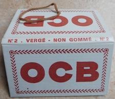 """Carnet De Papier à Cigarettes """"   OCB  """"  Vergé Non Gommé N° 2 - Empty Cigarettes Boxes"""
