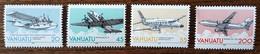 Vanuatu - YT N°826 à 829 - ESCAP / Commission économique Et Sociale Pour L'Asie Et Le Pacifique - 1989 - Neufs - Vanuatu (1980-...)