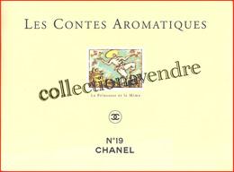 """Chanel : Les Contes Aromatiques. N° 19 Livret """"La Princesse & Le Mime"""", Parfait état - Parfums & Beauté"""