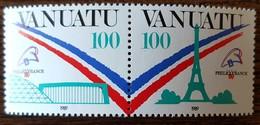 Vanuatu - YT N°830, 831 - Philexfrance'89 / Exposition Philatélique Mondiale - 1989 - Neufs - Vanuatu (1980-...)