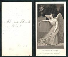 LUTTINO MILITARE: CARPINACCI GIOVANNI B. - Mm.70 X 115 - Aspirante Uffic. Del 5° Bersaglieri - M. A Villa Vicentina 1916 - Religione & Esoterismo