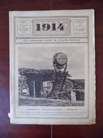 1914 Illustré N° 103 Projecteur - Verdun - Ostende - Calais - Batterie Lourde - Café Brésil - ... - Livres, BD, Revues