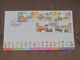 THAÏLANDE - Document Enveloppe Avec Timbres 10/01/2015 - Journée De L'enfance - Non Utilisée. - Thailand