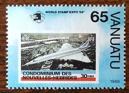 Vanuatu - YT N°837 - World Stamp Expo'89 / Exposition Philatélique Mondiale - 1989 - Neuf - Vanuatu (1980-...)