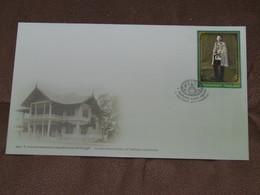 THAÏLANDE - Document Enveloppe Avec Timbres 08/11/2013 - 120 ème Anniversaire Roi - Non Utilisée. - Tailandia