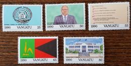 Vanuatu - YT N°846 à 850 - Indépendance - 1990 - Neufs - Vanuatu (1980-...)
