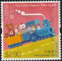 Hong-Kong 2015 Yv. N°1804 - Le Petit Train Bleu - Autoadhésif - Oblitéré - Oblitérés