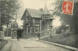78* MENUCOURT   Maison Du Garde    MA81.638 - Non Classés