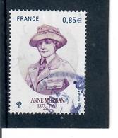 Yt 5123 Anne Morgan Cachet Rond - Gebraucht