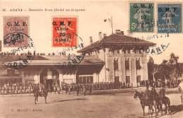 Turquie - Cilicie - Occupation Française / Belle Oblitération - 05 - Adana - Nouvelle Gare - Turquie