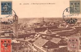 Turquie - Cilicie - Occupation Française / Belle Oblitération - 06 - Adana - L' Horloge - Turquie