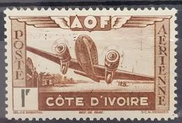POSTE AERIENNE N° 11 - 1f Brun Et Noir - Neuf Sans Charnières ** MNH - Nuovi