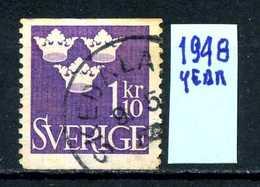 SVEZIA - SVERIGE - Year 1948 - Usato - Used - Utilisè - Gebraucht.- - Svezia