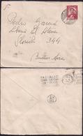 Uruguay - 1942 -  Letrre - Envoyé En Argentine - Uruguay