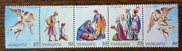Vanuatu - YT N°851 à 855 - Noël - 1990 - Neufs - Vanuatu (1980-...)