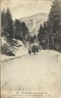 """Le Col De BUSSANG , 1915 , CPA ANIMEE + Cachet """" REG. D'ARTILLERIE DE MONTAGNE , Section Mixte De Munitions """" - Col De Bussang"""