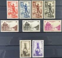 SERIE N° 120-121-122-124-125-129-130-131-132 - Neuf Sans Charnières ** MNH - Dahomey (1899-1944)