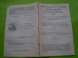 Lois:Travaux Sur Chemin De Fer De L'Ouest,chemin De Fer Du Midi & Du Canal Latéral à La Garonne. Budget 1881 &82 - Décrets & Lois