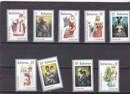 Bahamas Nº 492 Al 500 - Bahama's (1973-...)