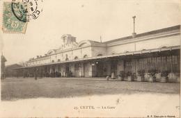 34 - CETTE - LA GARE - Sete (Cette)