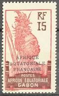 N° 94 - 15c Violet-brun Et Rouge-carmin - Neuf Sans Charnières ** MNH - Gabon (1886-1936)