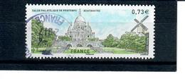 Yt 5124 Salon Philatelique De Printemps-montmartre-moulin A Vent-cachet Rond - France