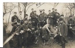 Télégraphie Militaire - Sapeurs Télégraphistes Du 24ème Bataillon Du Génie Caserné à Suresnes -halte En Manoeuvre - CPA - Manoeuvres