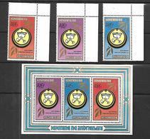 République Du Burundi  1979   Uprona Bloc Et Tp  N**  MNH - 1970-79: Neufs