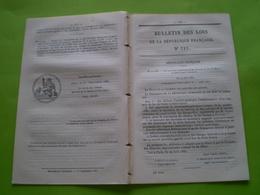 Lois:Concession Chemin De Fer Dakar à Saint Louis,Sénégal Avec Tarifs.Certificat D'études Primaires.Travaux RN82 Roanne - Décrets & Lois